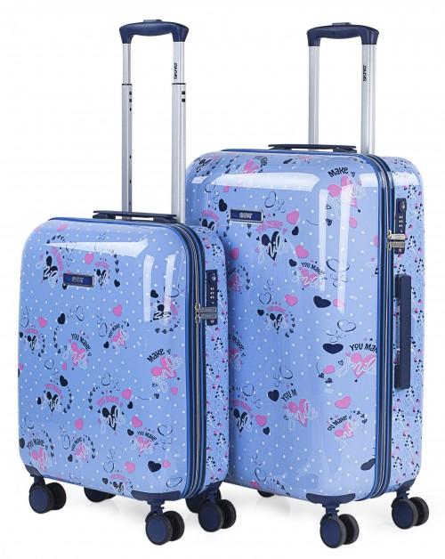 131400 Juego maletas cabina y mediana Skpat Smile
