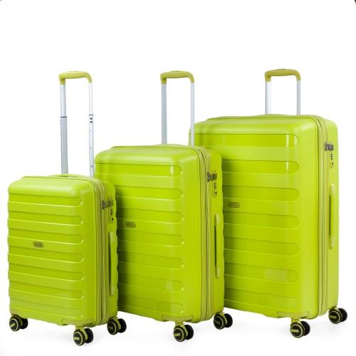 16120004 Juego maletas cabina mediana y grande jaslen roma lima