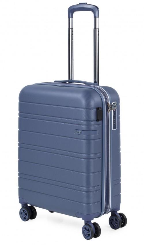 17125001 Maleta cabina Jaslen san marino expandible puerto usb azul