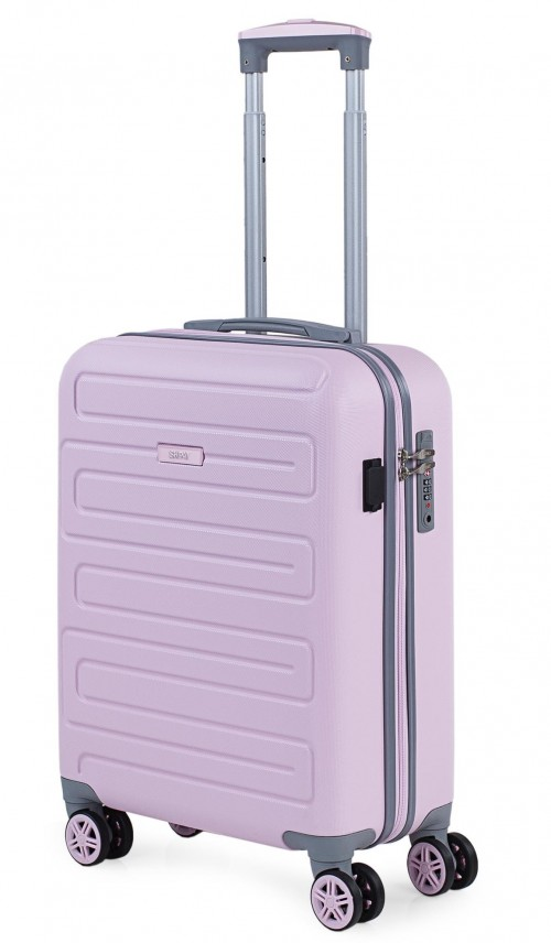 17505003  Maleta Cabina  con puerto usb skpat mónaco rosa