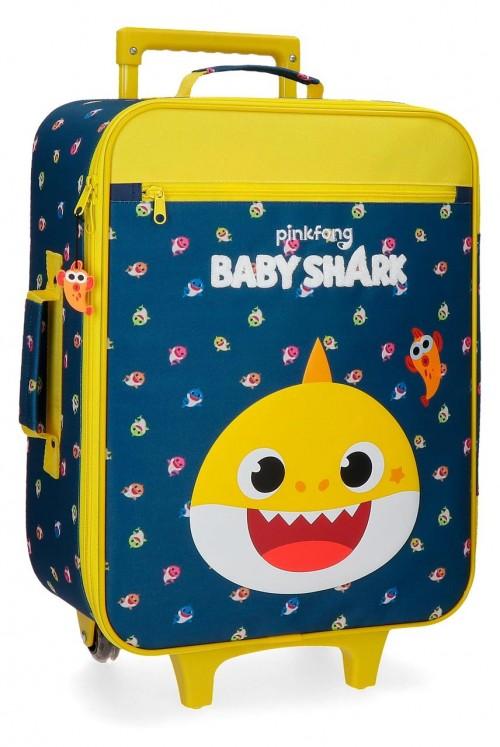 2119021 Maleta Cabina Blanda Baby Shark My Good Friend