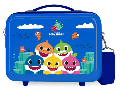 2123921 Neceser Rígido Baby Shark Happy Family