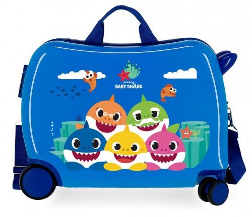 2129821 maleta infantil correpasillos baby shark happy family