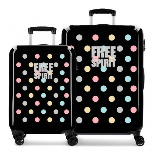 3061921 juego maletas cabina y mediana movom free dots