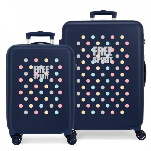 3061922 juego maletas cabina y mediana movom free dots