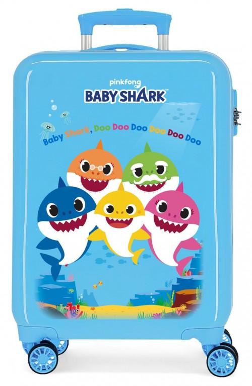 4151721 Maleta Cabina Baby Shark Family