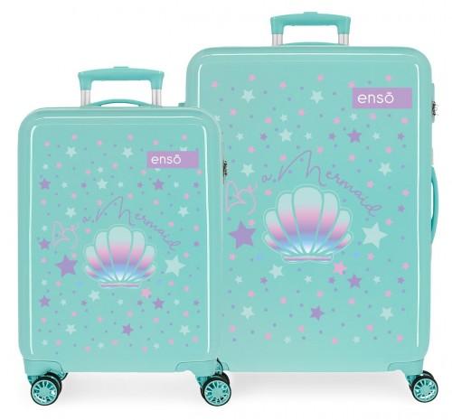 9051921 juego maleta cabina y mediana enso be a mermaid