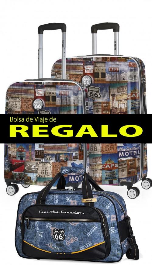 R61200 Juego Maletas Cabina y Mediana Route 66 HOLBROOK