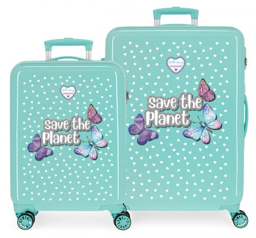 2011921 set maleta cabina y mediana movom save the planet