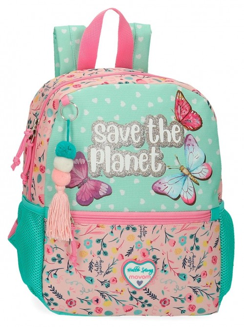 2012221 mochila pequeña 32cm movom save the planet