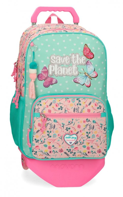 20124T1  mochila grande 45cm doble comp. con carro movom save the planet