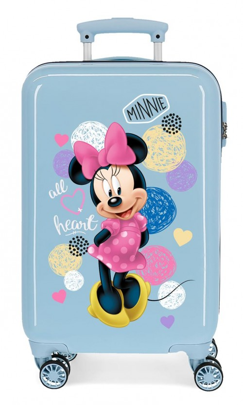 2051423 maleta de cabina love minnie