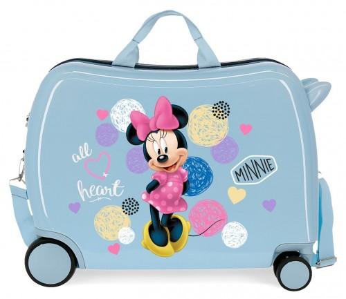 2059823 maleta infantil rígida love minnie