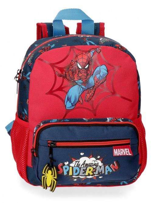 2072121 mochila pequeña 28cm spiderman pop