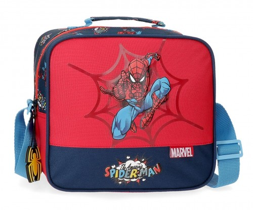 2074821 neceser con bandolera adaptable spiderman pop