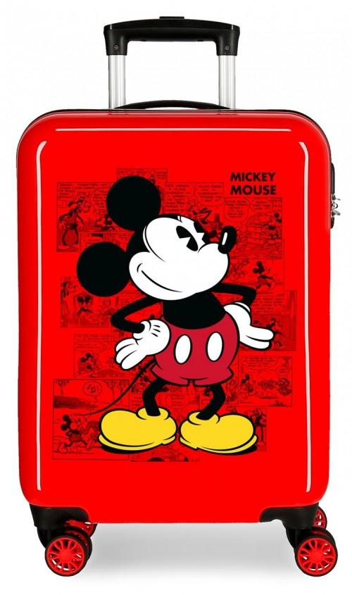 2231722 maleta de cabina  Mickey Comic Rojo