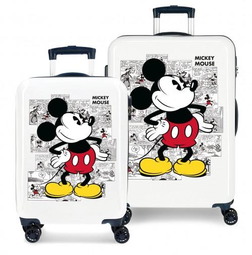 2231921 juego maletas cabina y mediana mickey comic