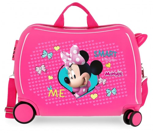 22398E1 maleta infantil  Minnie Happy Helpers rosa