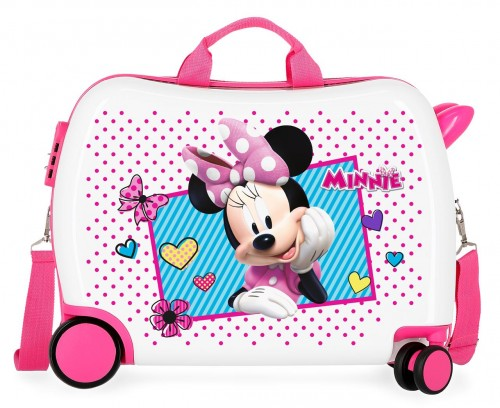 2399862 maleta infantil 50 cm joy minnie