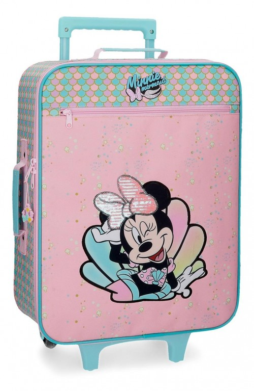 2499061 Maleta Blanda Cabina Minnie Mermaid