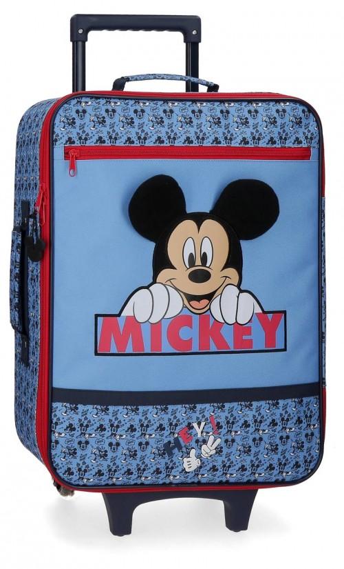 2529061 Maleta Blanda Cabina Mickey Moods