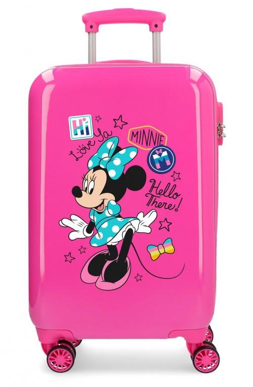 2561462 maleta cabina minni hi love rosa