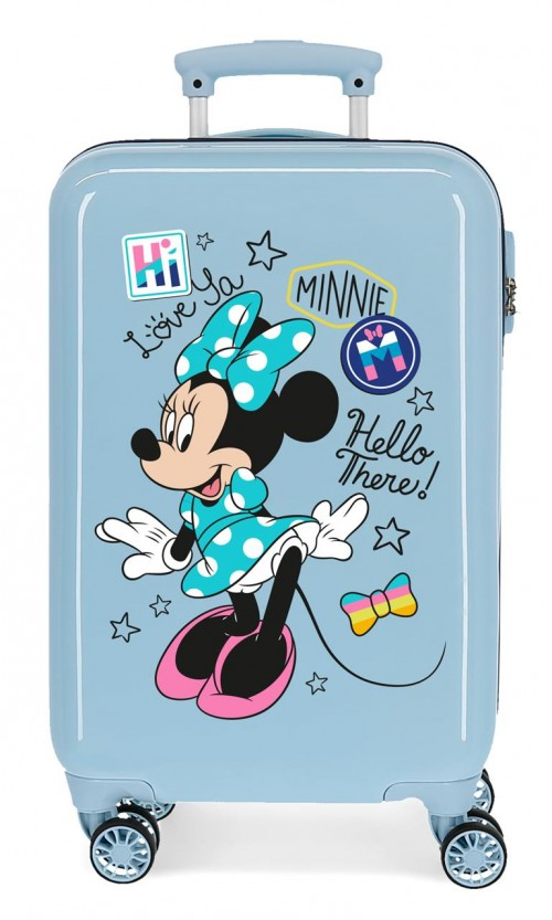 2561464 maleta cabina enjoy minnie hi love azul