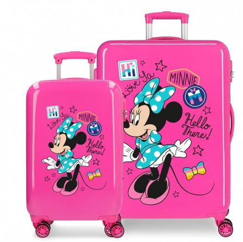 2561962 set maleta cabina y mediana minnie hi love