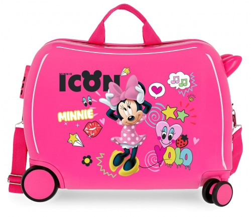 2569861 maleta infantil minnie icon fucsia