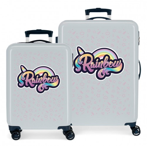 3011921 juego maletas cabina y mediana movom rainbow