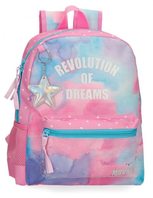 3022221 mochila pequeña 32cm movom revolution dreams
