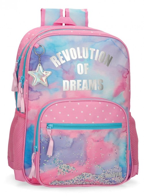30224D1 mochila 45cm doble comp. adaptable movom revolucion dreams
