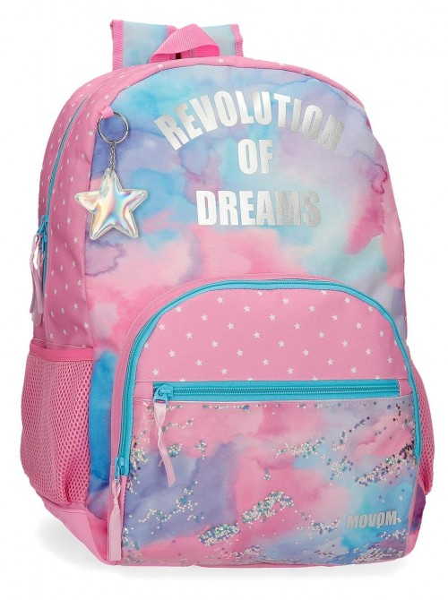 3022521 mochila 44cm cantoneras adaptable movom revolution dreams