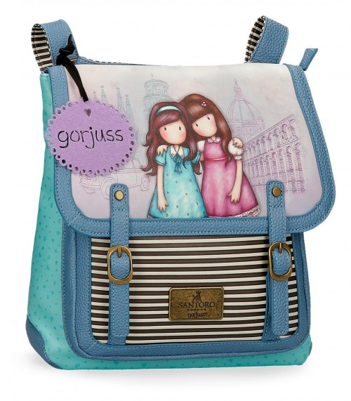 3082121 bandolera convertible en mochila 29cm gorjuss friend walk t