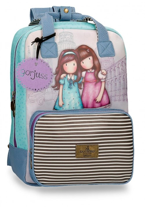 3082321 mochila 40cm portaordenador gorjuss friends walk together
