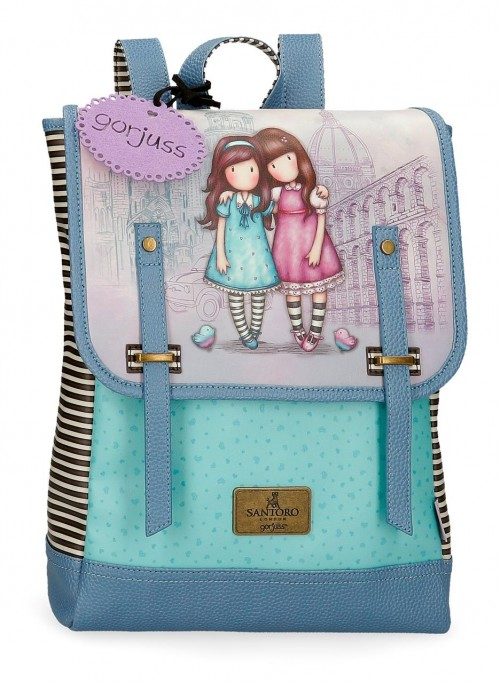 3082521 mochila 38cm portaordenador gorjuss friends walk together