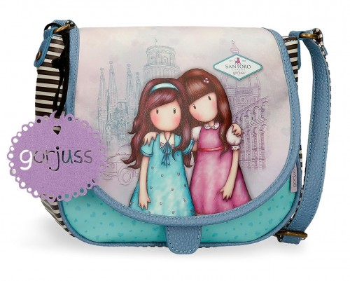 3085421 bolso bandolera con solapa gorjuss friends wlk together