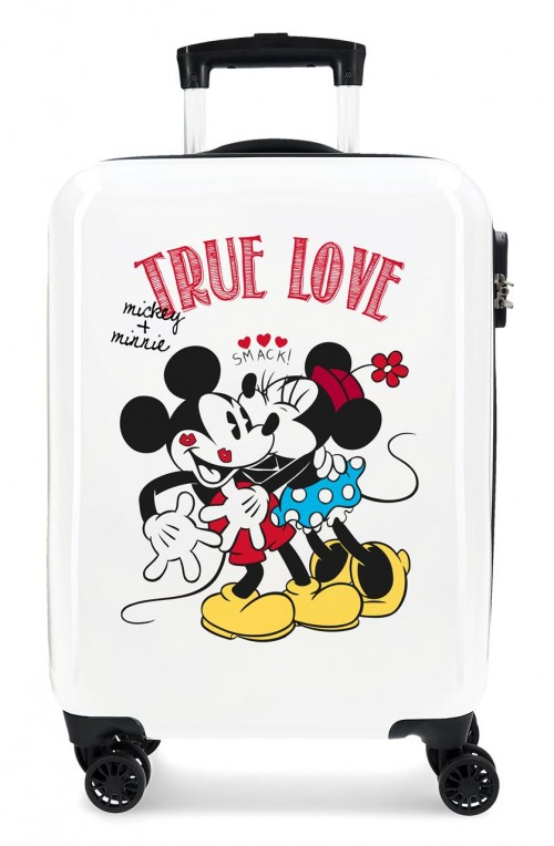 3211722 Maleta cabina Mickey y Minnie True Love