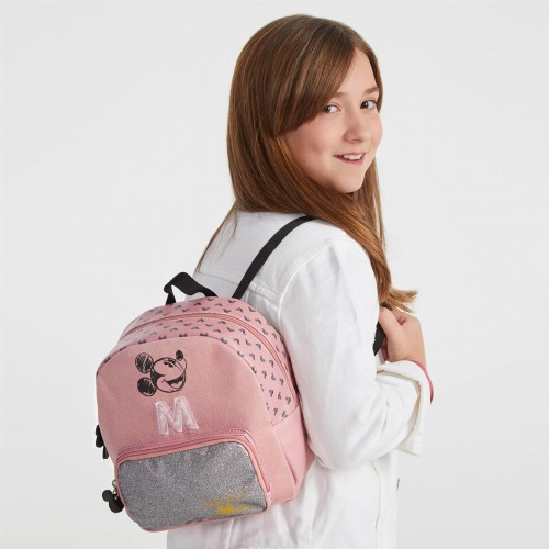 3742061 mochila urbana 20cm mickey the blogger