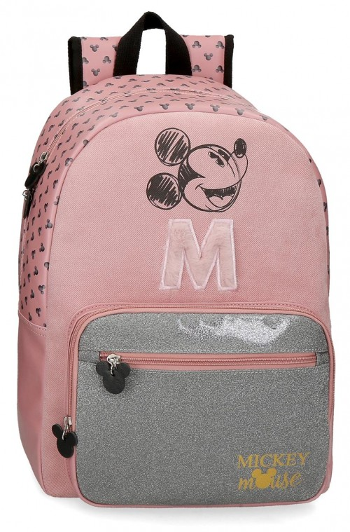 3742361 mochila grande 43cm mickey the blogger