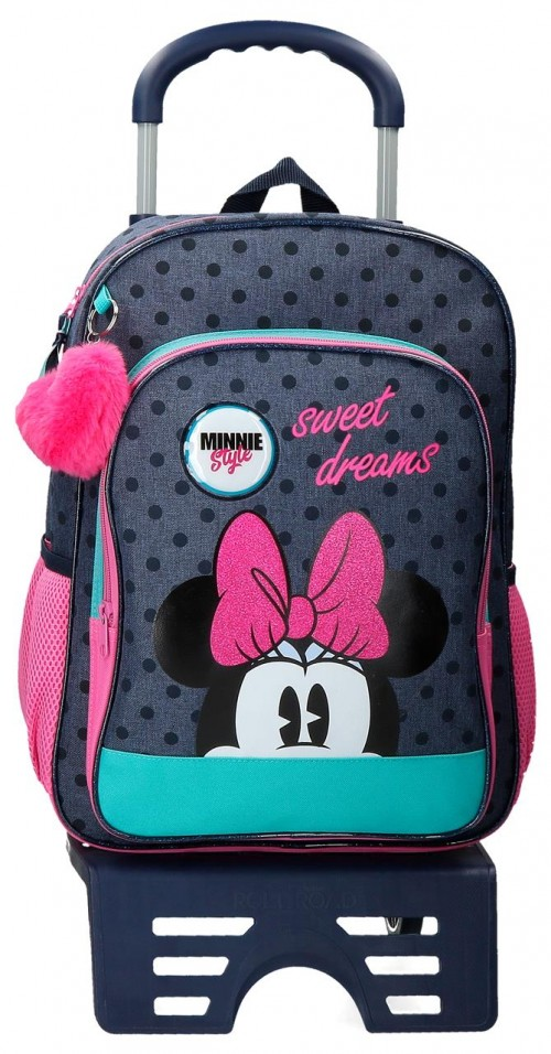 41723T1 mochila 40 cm con carro  Sweet Dreams Minnie