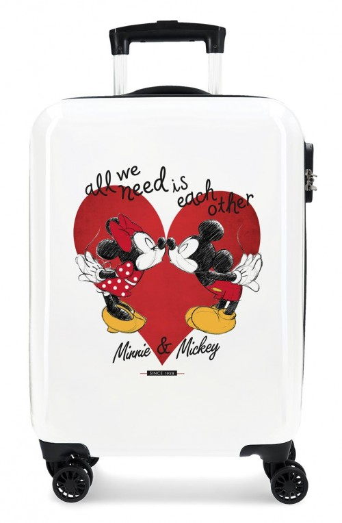 4391722 Maleta Cabina Mickey y Minnie Love