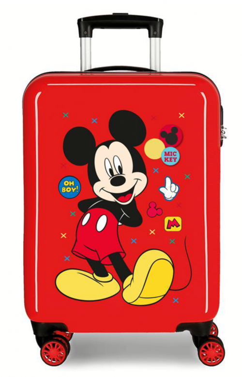 4681767 maleta cabina mickey enjoy the day oh boy