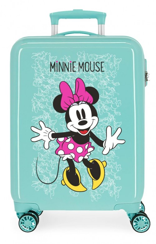 4681769 maleta cabina turquesa  minnie enjoy the day
