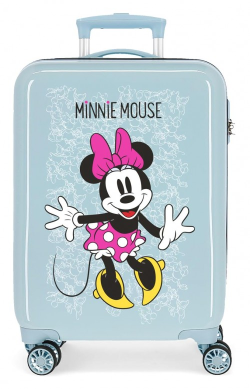 468176A maleta cabina azul minnie enjoy the day