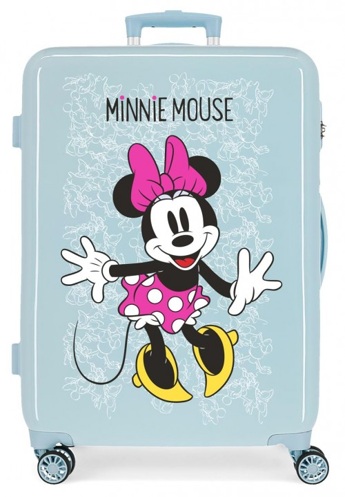 468186A maleta mediana azul minnie enjoy the day