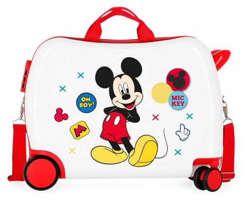 4689861 maleta infantil mickey enjoy the day oh boy blanco