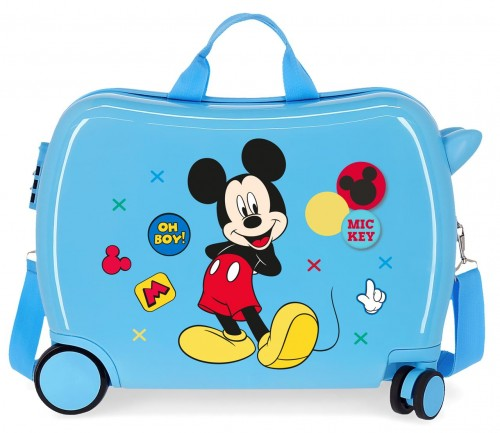 4689868 maleta infantil mickey enjoy the day oh boy azul
