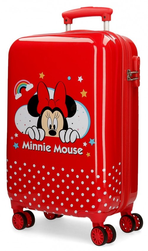 4771461 maleta de cabina en abs minnie rainbow