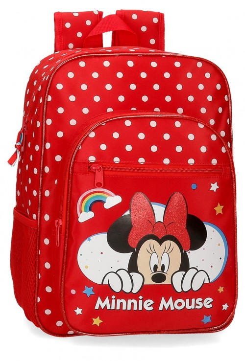 4772361 mochila mediana 38cm adaptable minnie rainbow